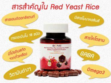 สารสำคัญข้าวยีสต์แดง-RedYeastRice-มีโปรตีนสกัดจากถั่วเหลือง