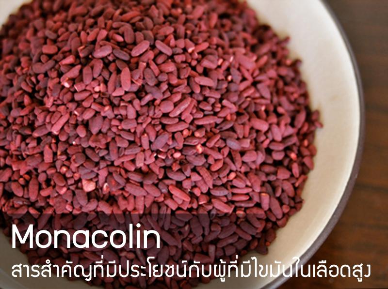 Monacolin สารสำคัญที่มีประโยชน์